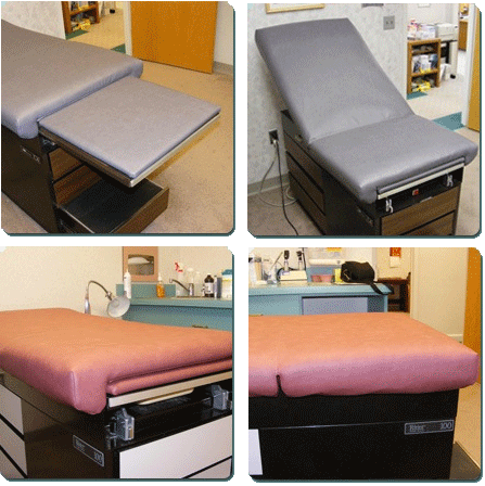 Medical Vinyl Crafters Reupholstery Covers For Healthcare